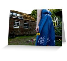 you can never hold back spring Greeting Card