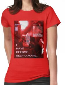 Self-Aware Womens Fitted T-Shirt