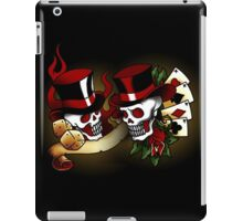 Gambling Skull Tattoos iPad Case/Skin