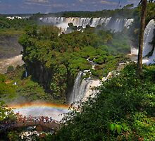 Rainbow and Falls by Peter Hammer