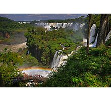 Rainbow and Falls Photographic Print