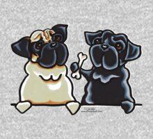 Bone to Pug Kids Tee