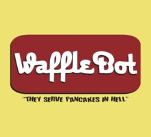 "Waffle Bot ""They Serve Pancakes in Hell"" Kids Clothes"
