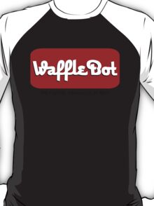 """Waffle Bot """"They Serve Pancakes in Hell"""" T-Shirt"""