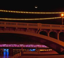 Tempe Town Bridge by K D Graves Photography
