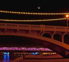 Tempe Town Bridge by K D Graves Photography