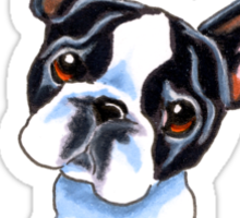 Its All About Me :: Boston Terrier Sticker