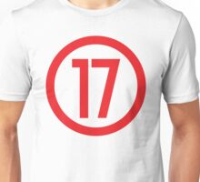 Red 17 - Where Level 6 is born Unisex T-Shirt