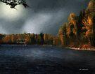 Metal Bridge in Moonlight by RC deWinter