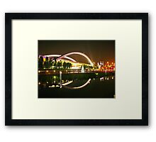 night architecture Framed Print