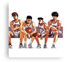 SLAM DUNK TEAM Canvas Print