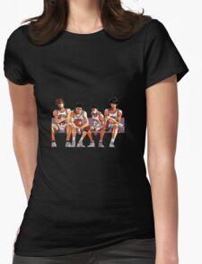SLAM DUNK TEAM Womens Fitted T-Shirt
