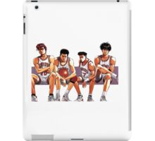 SLAM DUNK TEAM iPad Case/Skin