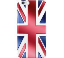 British Flag - UK - Metallic iPhone Case/Skin