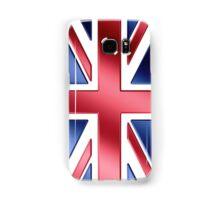 British Flag - UK - Metallic Samsung Galaxy Case/Skin