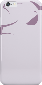 mewtwo iphone case by markwalter2747