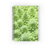 Romanesco Broccoli Spiral Notebook