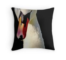 Mute Swan Throw Pillow