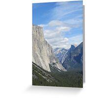 Yosemite National Park View Greeting Card