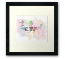 billy kaplan c: Framed Print