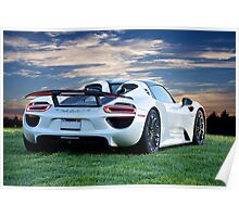 2014 Porsche 918 Spyder 'Your View' Poster