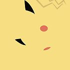 pikachu iphone case by markwalter2747