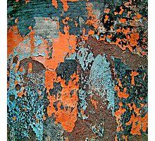 Peeling Paint Photographic Print