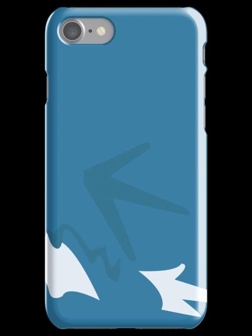 gyarados iphone case by markwalter2747