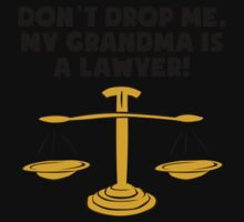 My Grandma Is A Lawyer One Piece - Short Sleeve