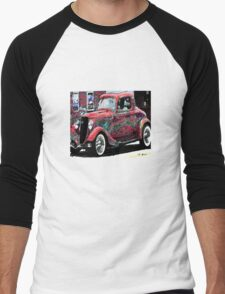 vintage car Men's Baseball ¾ T-Shirt