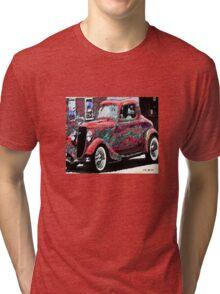 vintage car Tri-blend T-Shirt
