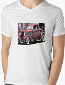 vintage car Mens V-Neck T-Shirt