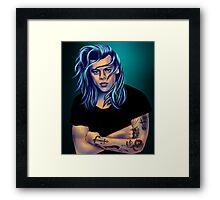 Winter Harry Framed Print
