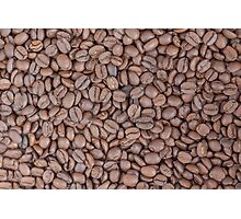 Coffee beans texture Photographic Print