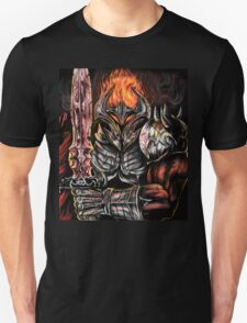 fire and steel warrior  T-Shirt