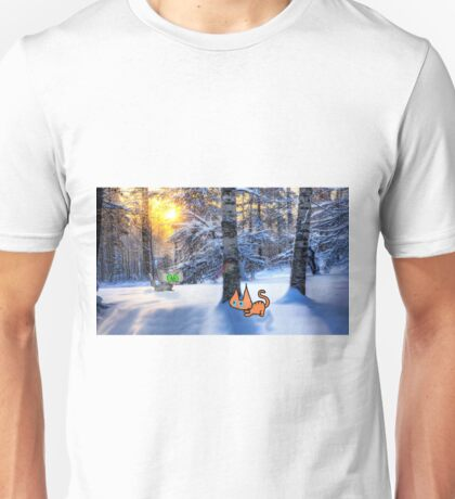 Cats Play Hide And Seek Unisex T-Shirt