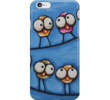 Morning Gossip iPhone Case/Skin