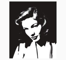 Lauren Bacall by clippingpath1