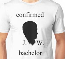 confirmed bachelor John Watson Unisex T-Shirt