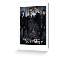 Person of interest Greeting Card
