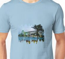 Yaquina Bay Bridge At High Tide Unisex T-Shirt