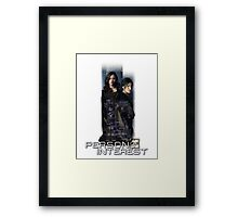 root and shaw Framed Print