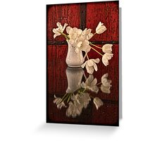 Springy Tulips Greeting Card