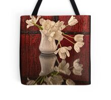 Springy Tulips Tote Bag
