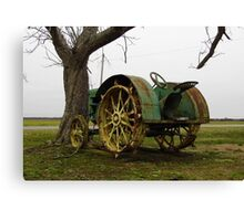 Deere On The Prairie Canvas Print