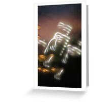 The Speed of Light #2 Greeting Card