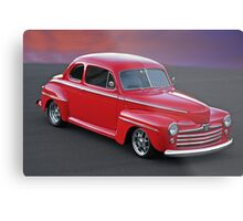 1947 Ford Super Deluxe Coupe ' Above it All' Metal Print