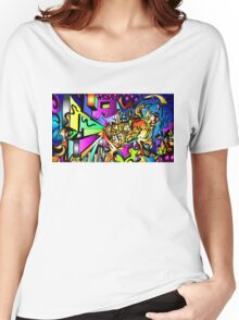 Ambigram Madness Women's Relaxed Fit T-Shirt