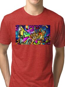 Ambigram Madness Tri-blend T-Shirt