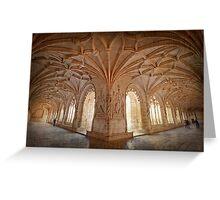Jerónimos Monastery Greeting Card